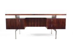 FRISTHO EXECUTIVE DESK, 1950'S Stunning rosewood desk