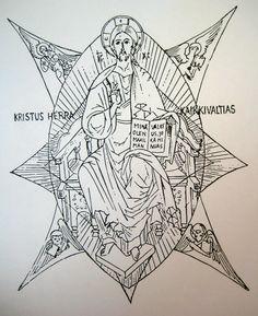 http://www.betsyporter.com/images/d_Christ_in_Glory.JPG  Christus in zijn Glorie
