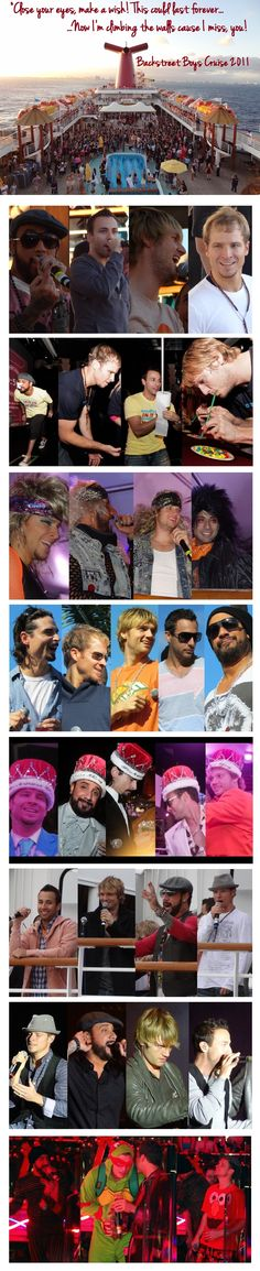 OMG...I MUST make this HAPPEN!!!  #MOEWhat BSB CRUISE 2011! aj howie nick brian kevin