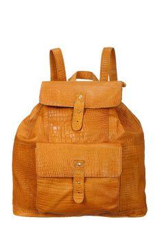Le sac à dos Pieces à 139.95€ http://www.monshowroom.com/fr/zoom/pieces/sac-a-dos-en-cuir-animal-lykke/170237