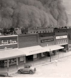 oklahoma dust bowl, unknown source