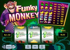 'Funky Monkey' #Slot #game is a sure jackpot!