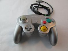 Silver Gamecube Controller - Tested - Game Cube by Cosmokra on Etsy