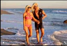 The Barbie Couple Daniel DiCriscio and Angelique Frenchy Morgan in Malibu from Turkish Celeb News Press