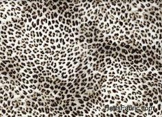 Leopard Print Cotton Voile