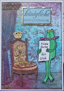Sophie's Art: königliche Glückwünsche...