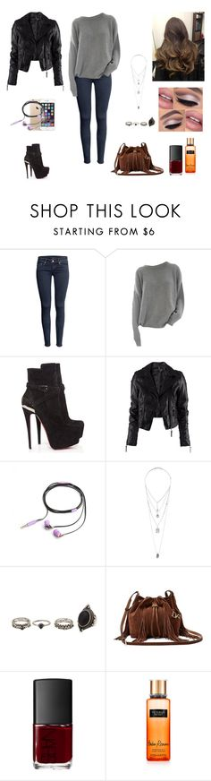"""""""The Twin Alpha's #9"""" by jazmine-bowman on Polyvore featuring H&M, Christian Louboutin, Nicole Miller, Miss Selfridge, Charlotte Russe, Diane Von Furstenberg and NARS Cosmetics"""