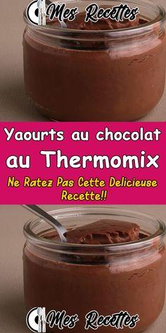 Ww Desserts, Delicious Desserts, Yogurt Recipes, Healthy Recipes, Dessert Thermomix, Mousse Dessert, Summer Recipes, Chicken Recipes, Deserts