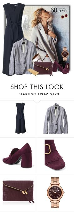 """488"" by believelikebreathing ❤ liked on Polyvore featuring TIBI, Banana Republic, Prada, Henri Bendel, Marc Jacobs, Kevin Jewelers, jobinterview and 60secondstyle"