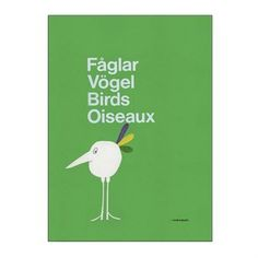Fåglar poster - 50x70 cm - Olle Eksell