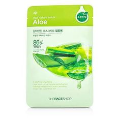Real Nature Mask - Aloe (Soothing & Hydrating) - 10x20g-0.7oz