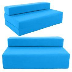 Block Filled Fold Up Sofa Bed Z Guest Foam Futon Mattress In Outdoor Gilda