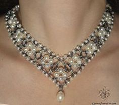 Silver princess N525 by Fleur-de-Irk