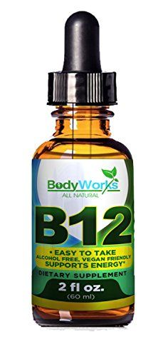 Vitamin B12 Sublingual Liquid Drops  Easy To Take  Vegan Friendly  Alcohol Free  Supports Energy  60 Servings  100 Guarantee >>> Details can be found by clicking on the image.