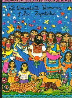 La Comandanta Ramona y los Zapatistas