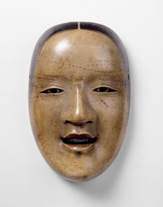 Magojiro Object: Noh mask Place of origin: Japan (made) Date: late century (made) Artist/Maker: Wakasa no Kami (maker) Materials and Techniques: Carved and painted hinoki wood Credit Line: Supported by Art Fund (W. Theatre No, Noh Theatre, Hinoki Wood, Japanese Mask, Art Fund, Art Japonais, Victoria And Albert Museum, Cool Paintings, Culture