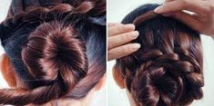 How to DIY Waterfall Braided Bun Hairstyle | iCreativeIdeas.com Follow Us on Facebook --> https://www.facebook.com/iCreativeIdeas