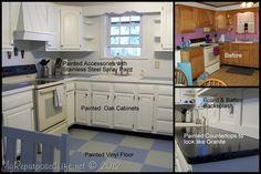 Painting oak cabinets properly