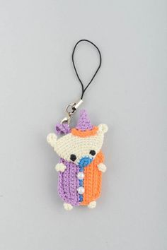 Keychain Soft toy Handmade Eco friendly Home sold by BrightCozyStore. Shop more products from BrightCozyStore on Storenvy, the home of independent small businesses all over the world.