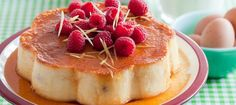 Recette de gâteau de semoule au citron et aux framboises - L'Express