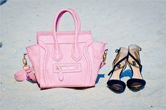Pink Handbag.