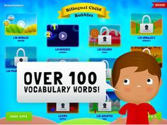 Learn Spanish Toddlers Games- Kid World Citizen
