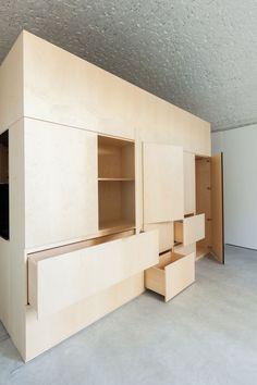 Cellar's conversion into an apartment