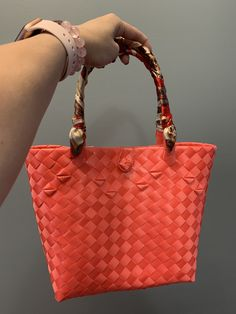 Handwoven from recyclable plastic Regions Of The Philippines, Market Bag, Innovation Design, Hand Weaving, Plastic, Shoulder Bag, Tote Bag, Bags