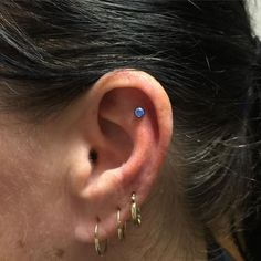 Day off: Healing flat piercing done on my mother in law! Got tons and tons of new jewelry in stock that I can use to do piercings like this! Come see me tomorrow 1-9 at @mantistattoo #piercing #earpiercing #bodypiercing #anatometal #safepiercing @safepiercing #appmember ~ Great pin! For Oahu architectural design visit http://ownerbuiltdesign.com