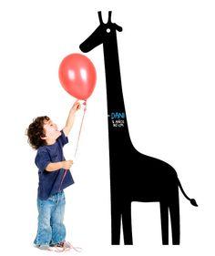 Vinilo Pizarra La Girafa dice MyVinilo Pizarra