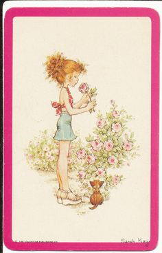 http://www.ebay.com/itm/SARAH-KAY-GIRL-WITH-FLOWER-PINK-BORDER-SWAP-PLAYING-CARD-BLANK-BACK-/291341138860?pt=AU_PaperPostcards