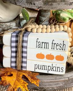 Excited to share this item from my shop: Stamped books / Wood Books / Tiered tray decor / Fall decor / Halloween decor / Farmhouse decor / Farm fresh pumpkins / book stack Fall Halloween, Halloween Crafts, Halloween Decorations, Halloween Stuff, Halloween Pumpkins, Pumpkin Books, Wood Book, Fall Projects, Painted Books