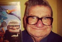 Es él, la inspiración de la entrañable película de Pixar Up!  He exists!