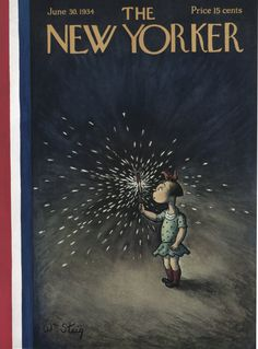 The New Yorker - Saturday, June 30, 1934 - Issue # 489 - Vol. 10 - N° 20 - Cover by : William Steig