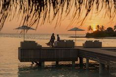 Sunset Bar at  Maldives