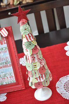 Az elmúlt években rengeteg sk elkészíthető karácsonyfadíszt és egyéb karácsonyi dekort - girlandokat , koszorúkat , hóembereket - mutattunk nektek, nem is egyszer (lásd még itt , itt , itt és itt , meg még itt ). Olyan posztunk viszont még nem volt, ahol maga a karácsonyfa...