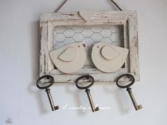 decoracion con llaves vintage - Buscar con Google