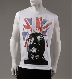 Vivienne Westwood (British, born 1941). T-shirt, 1975-77. Designer: Malcolm McLaren (British, 1946–2010). British. The Metropolitan Museum of Art, New York. Gift of Barbara and Gregory Reynolds, 1985 (1985.375.13) #punkfashion