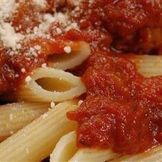 Basic Pasta Sauce @ http://allrecipes.com.au