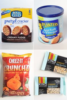 The Best New Supermarket Snacks of 2015 (So Far)  -  some healthy and unhealthy snacks, sweet, salty, spicy.  kind, nuts, granola, etc.     lj