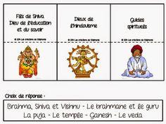 Les créations de Stéphanie: Éthique et culture religieuse Religions Du Monde, World Religions, Cycle 3, Kids Learning, Teaching, School, Buddhism, Religious Education, Preschool Classroom