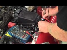 Automotive Repair:  Locating Battery Drain Using Voltage Drop