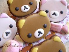 rilakkuma cookies by Evelindecora