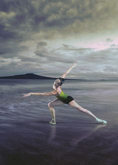 Royal New Zealand Ballet - From Here to There. Rangitoto in the Background!