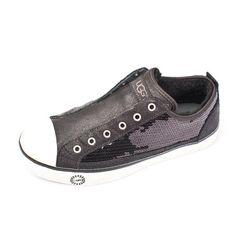 Ugg Sequin Sneakers Black