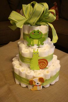 Frogs, Snails, and Puppy Dog Tails..That's what little boys are made of baby shower gift
