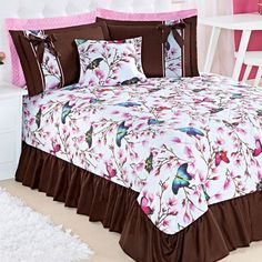 Bed Cover Design, Rose Duvet Cover, Home Room Design, Bed Covers, House Rooms, Bed Spreads, My Room, Bed Sheets, Comforters