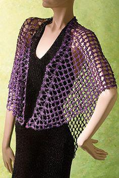 Lilac Lace Wrap