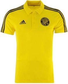 6b85bd132 adidas Men s Columbus Crew Sc Coaches Polo - Yellow S