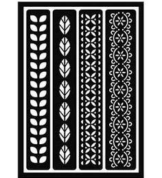 FolkArt ® Peel & Stick Painting Stencils - Borders | Plaid Enterprises